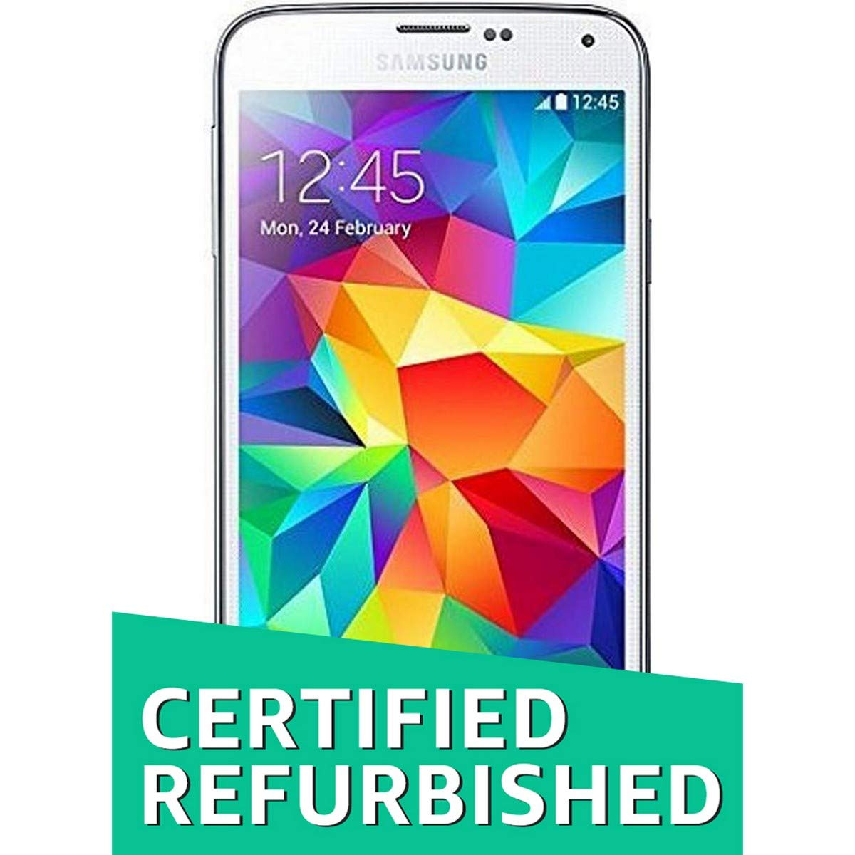 Certified Refurbished Samsung Galaxy S5 Sm G900 White E5 16gb Electronics