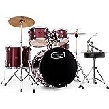 Mapex Tornado III 22 inch Rock Fusion Drum Kit | Red