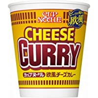 Nissin Cup Noodles European Cheese & Curry 3oz(85g)/Cup X 5 Cups(for 5 Servings) [Japan Import]