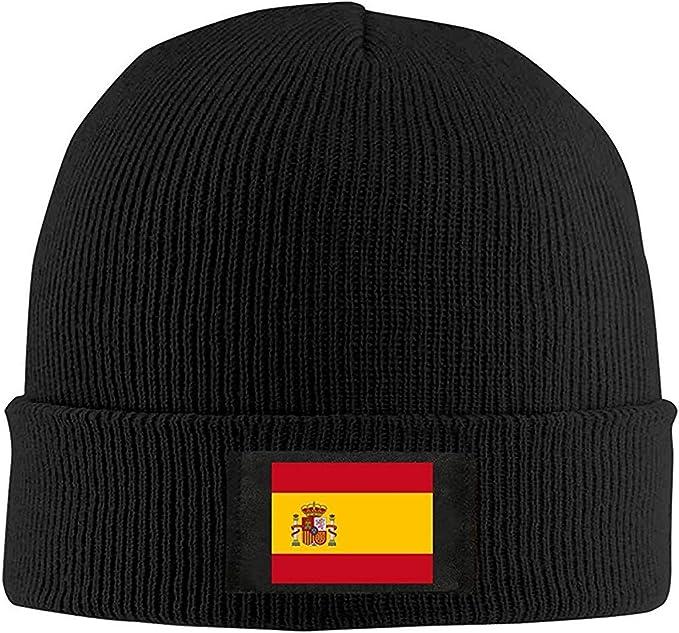 Cálida Bandera Española Unisex Unisex Cálida Gorra De Lana De ...