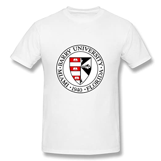 Amazon com: ZIYUAN Men's Barry University 1940 Logo T-shirt