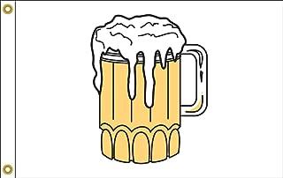 product image for Beer Mug Flag 12X18 Inch Nylon
