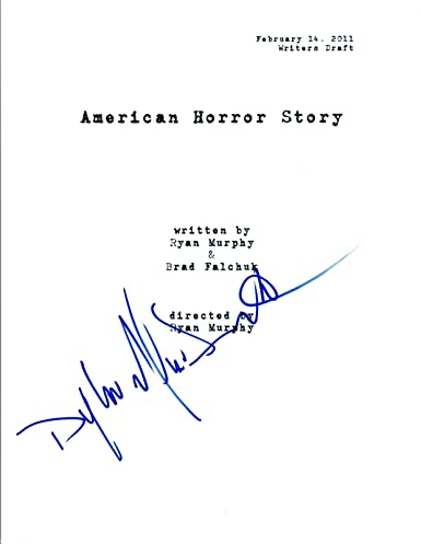 Dylan McDermott Signed Autographed AMERICAN HORROR STORY