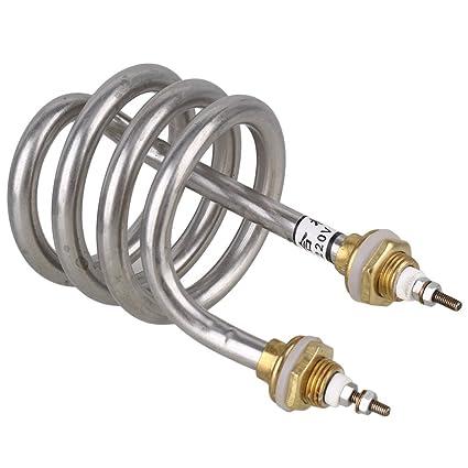cnbtr plata 8 x 13 cm de AC220 V 2500 W eléctrico de acero inoxidable espiral