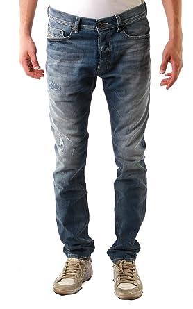 de11084c Diesel Tepphar Stretch Light Washed Denim Jeans: Amazon.co.uk: Clothing