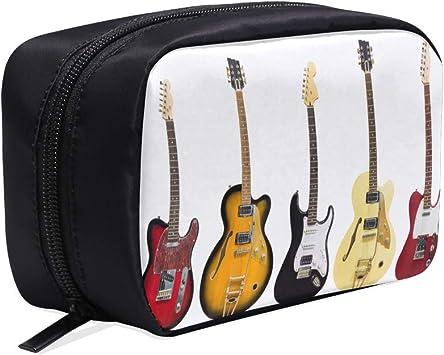 Guitarra hermosa Varias guitarras de vectores Bolsas de cosméticos ...