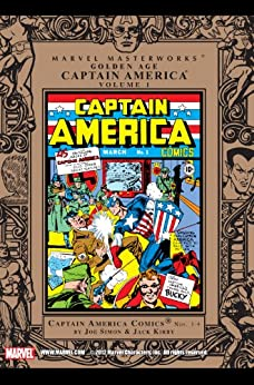 Marvel Masterworks: Golden Age Captain America, Vol. 1 by [Simon, Joe]