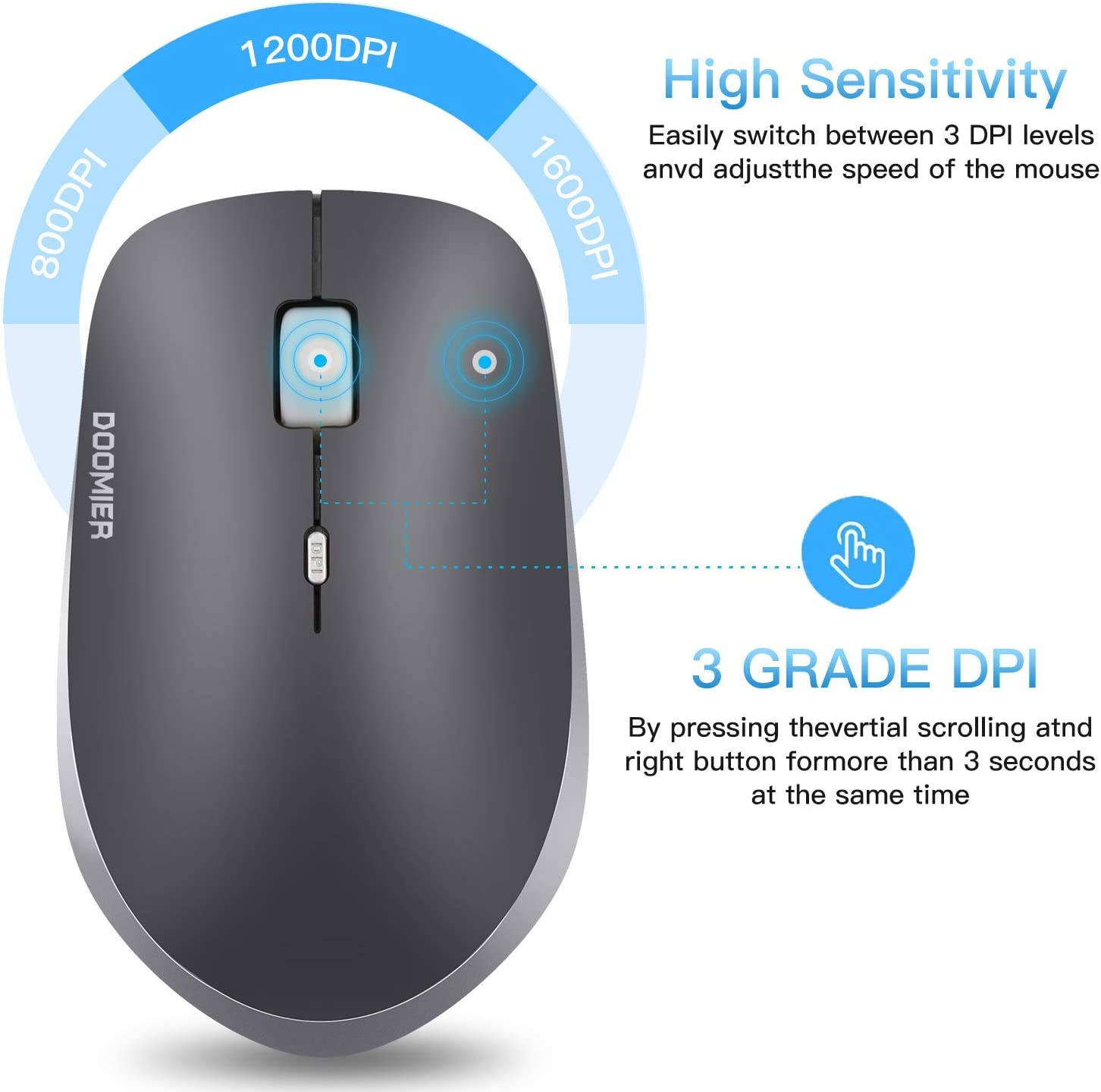 55% Off Coupon – 2.4Gz Wireless Mouse With Nano Receiver