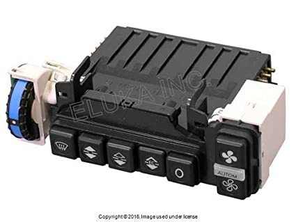 Mercedes-Benz Climate Control Unit With Push Button Assembly