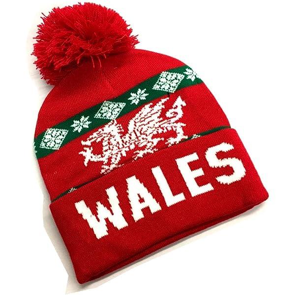 WELSH JACQUARD SCARF Wales, Dragon, Gift, Cymru, Supporter