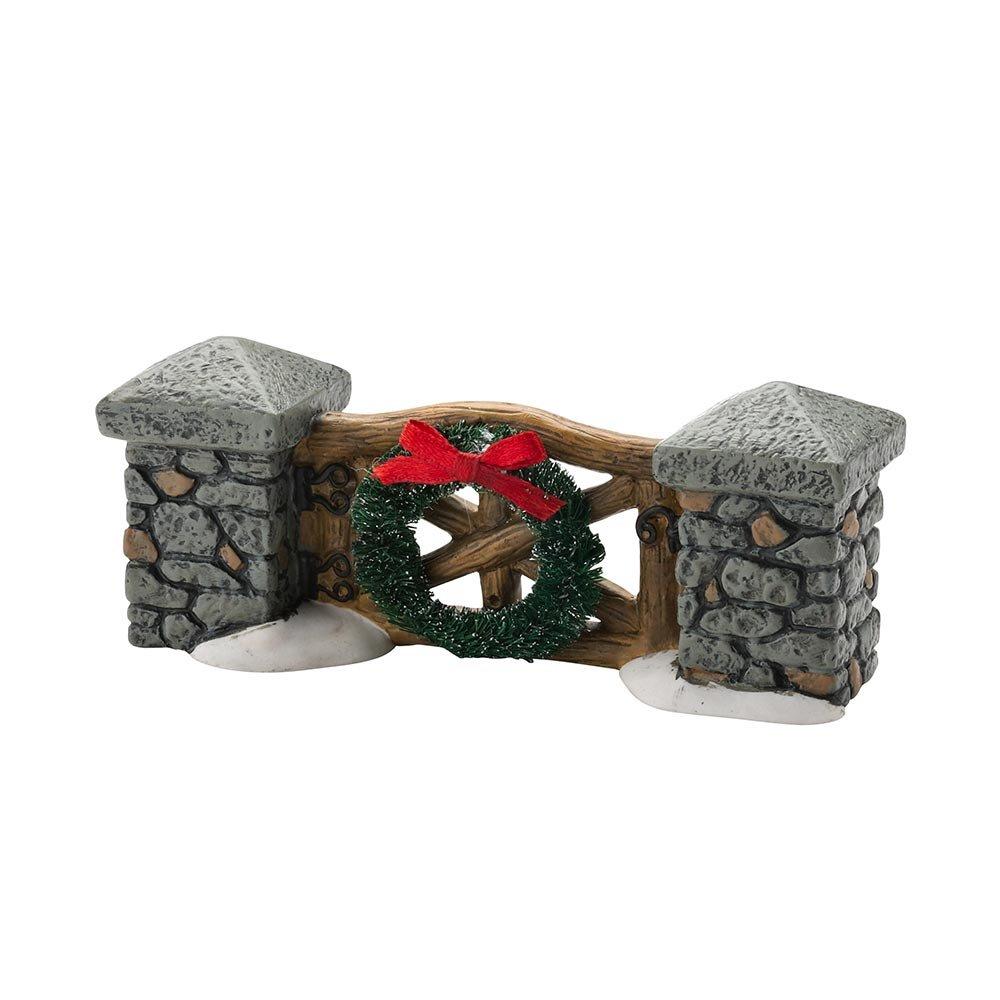 Departamento 56 para Village colecciones Woodland Stone Gate General accesorio, 4,5 cm