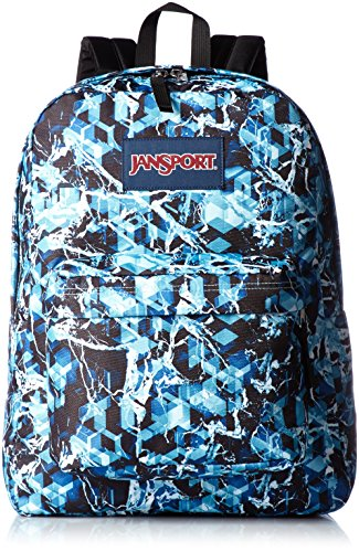 JanSport SuperBreak Backpack - Multi Blue ice- Mens - OS