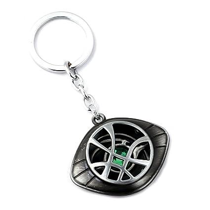 Doctor Strange Necklace - Eye of Agamotto Alloy Key Chain Pendant (#1)