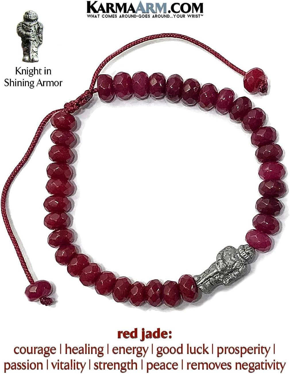 Change Natural Black Onyx Red Coral Beaded Meditation Spiritual Stretch Mantra Reiki Healing Energy Boho Chakra Wrap Yoga Tibetan Buddhist Jewelry /& Gifts KarmaArm Silver Gothic Cross Bracelet