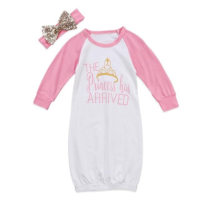 Amazon.com: Gllive - Juego de ropa de dormir para recién ...