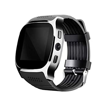 XHZNDZ Reloj Inteligente Bluetooth inalámbrico con Cámara, Desbloquear Reloj Elegante de iPhone Reloj Slot de Tarjeta SIM, Reloj Impermeable Impermeable ...