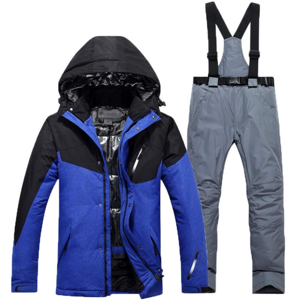 KUNHAN Abbigliamento da sci sci sci per uomo Giacca da Sci  Pantaloni da Sci per   Uomo Giacca da Sci per Abbigliamento da Esterno Traspirante  Pantalone da    Sci Antivento ImpermeabileB07MMKW2J3XXL Coloreeee 4 | Prodotti di alta qualità  | Funzionalità eccelle fd30ab