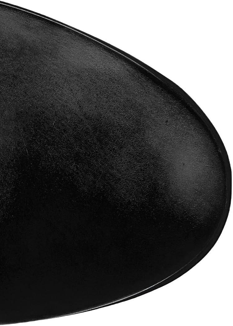 Think! Keshuel_383119, Bottes Hautes Femme Noir 00 Noir