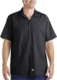 Dickies Camisa de manga larga para trabajo industrial
