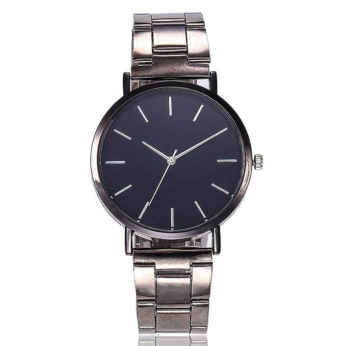 Amazon.com: FEDULK - Reloj de pulsera para mujer, de cuarzo ...