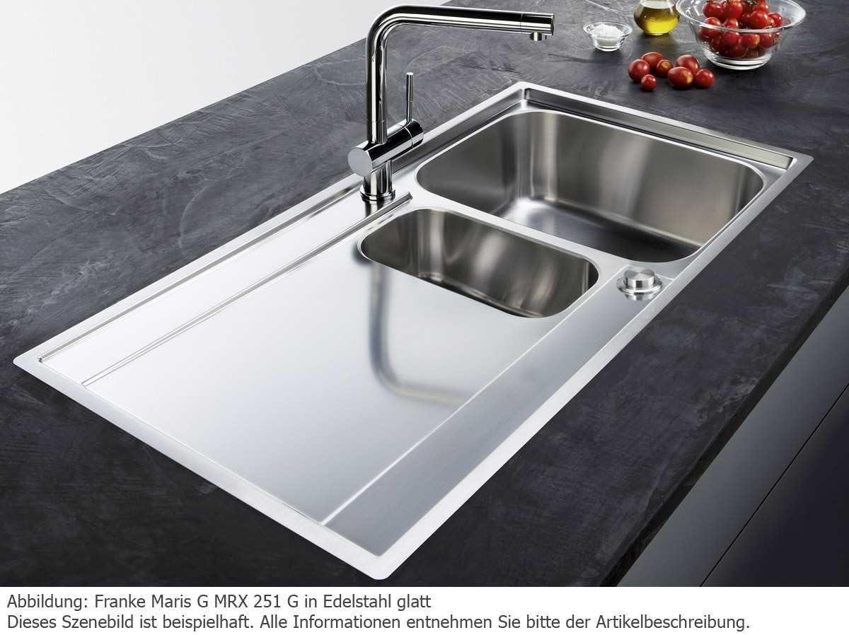 Franke MARIS MRX 251/G /Évier en acier inoxydable lisse /Évier de cuisine Reste Bac SlimTop 60US