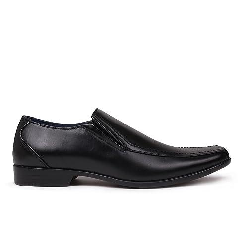 Giorgio - Mocasines de Material Sintético para Hombre: Amazon.es: Zapatos y complementos
