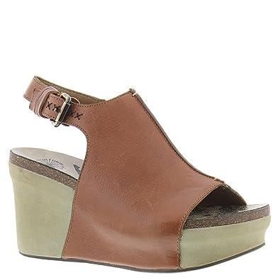 OTBT Women s Jaunt Wedge Sandals - Mocha - 5.5 67754e0fad