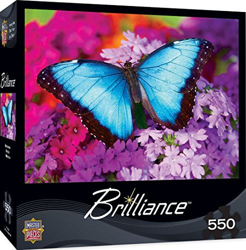 MasterPieces Brilliance Iridescence - Butterfly 550 Piece Jigsaw Puzzle