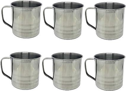 Amazon.com: Tsyware - Juego de 6 tazas de café irrompibles ...