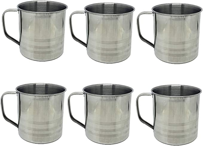 Details about  /3pcs Set Coffee Mug Stainless Steel Portable Outdoors Camping Hiking Picnic Cups