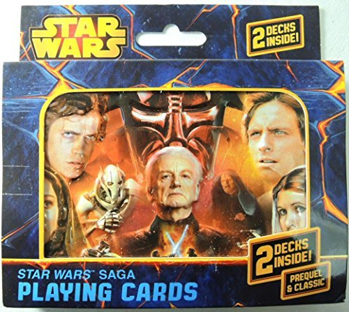 Star Wars Saga Double Deck Playing Cards in Tin