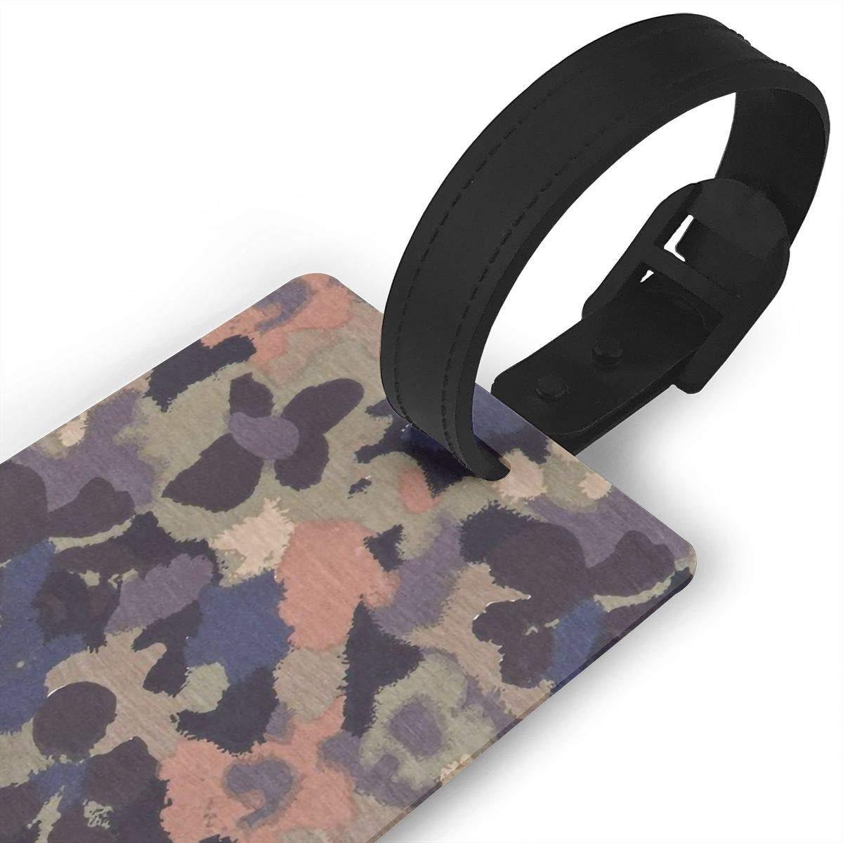 Camouflage Handbag Tag For Travel Bag Suitcase Accessories 2 Pack Luggage Tags