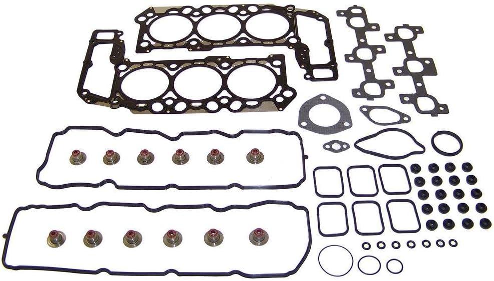 Durango Grand Cherokee Jeep//Dakota Liberty DNJ EK1105 Engine Rebuild Kit for 2002-2005 // Dodge Ram 1500//3.7L // SOHC // V6 // 12V // 226cid // VIN K