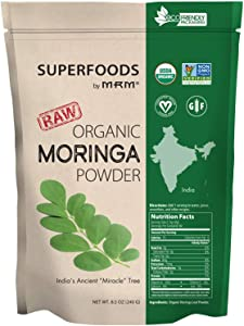 Super Foods - Raw Organic Moringa Leaf Powder
