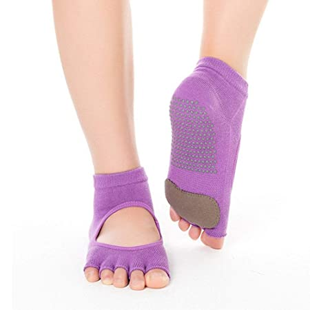 Chenyuying 3pairs / Pack Calcetines de Yoga Antideslizantes ...