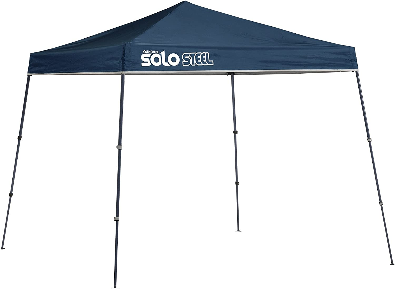 Quik Shade Solo Steel 9 x 9 ft. Slant Leg Canopy, Midnight Blue