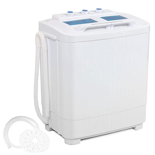 DELLA Electric Small Mini Portable Compact Washer