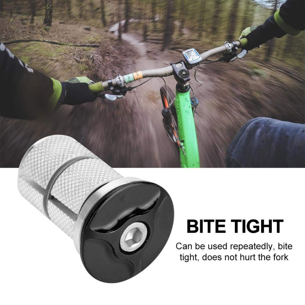 New MTB Road Bike Headset Cap Cover Top Star Nut Expander Plug For 1-1//8 Fork US