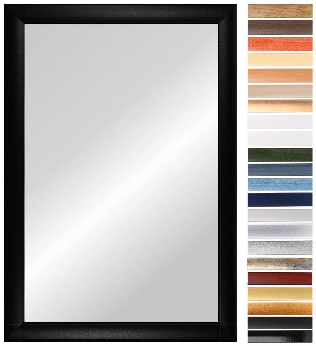 OLIMP 80 x 120 cm Spiegel nach Maß mit Rahmen, Rahmen Farbe: Weiss ...