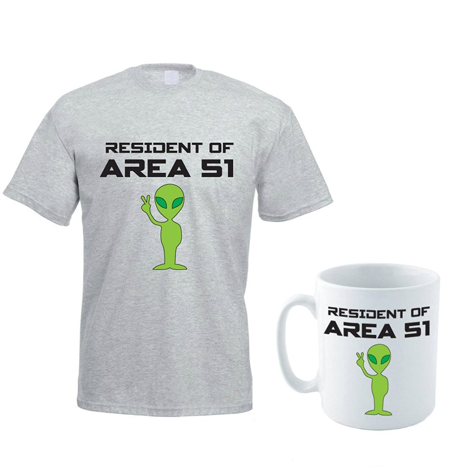 ALIEN THEMED - Science Fiction / Sci Fi / Gift / Novelty Men's T-Shirt & Ceramic Mug