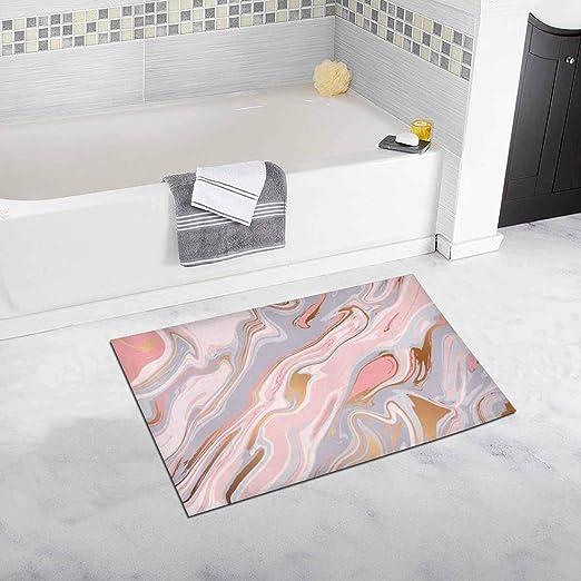 BANDED BATHROOM BATH MAT SET ABSORBENT NON-SLIP BACKING RUGS SET 3PC #10 BEIGE