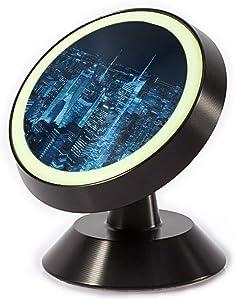 Tinmun Magnetic Phone Car Mount, New York City Midtown Skyline Universal Car Phone Holder for Dashboard