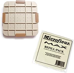 Microfleur Max Microwave Flower Press and Max Refill Pack