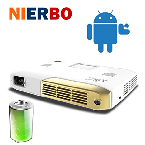 nierbo HC30 Proyector Mini DLP LED Home Theater para la educación ...
