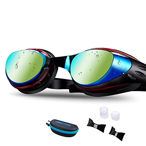 c6910007b2e Amazon.com   AIKOTOO Swim Goggles