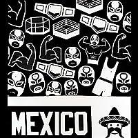 Playera Luchadores México T-shirt Wrestlers Mexico