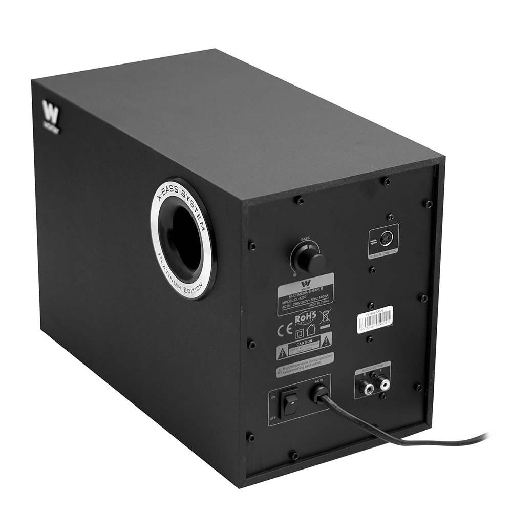 Woxter Dynamic Line DL-1250 - Altavoces Multimedia 2.1, 150 W: Amazon.es: Informática