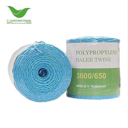 T&H International 3600/650 Baler Twine, Blue