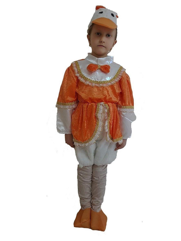 pequeños monelli Traje Pato niña Vestido Daisy de Carnaval ...
