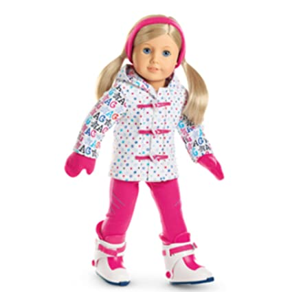 Amazon.com  American Girl Hit the Slopes Outfit for 18 Inch Dolls ... dca2d97b2